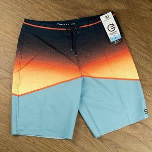 Billabong Board Shorts Multi-color Size 31 NWT